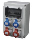 Qixing Cee / IEC International Standard Combinaison de puissance en plastique Boîtier