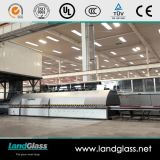 Landglass forçou a maquinaria de vidraria moderada conveção