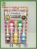 maniglia e bastone molto flessibili del Toothbrush del bambino di Panada dell'imballaggio 5-PC sui vetri