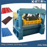 Corrugated плитка формировать машину для экспорта