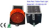 300 millimetri lampeggiante solare di plastica