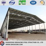 Sinoacmeは重工業のための鉄骨フレームの建物を組立て式に作った