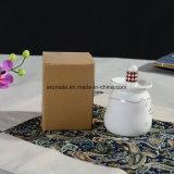 かわいく白いAromatherapyの陶磁器のオイルバーナー(CB-12)