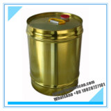 goldene Zinn Container_for Chemikalien des Metall20liters