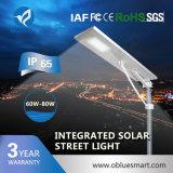 1つの太陽街灯の2016熱い販売60Wすべて