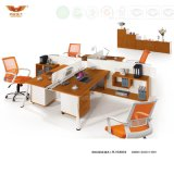Het moderne Uitvoerende Bureau van de Vorm van L van het Kantoormeubilair (H30-0131)