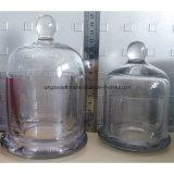De metaal Kaars van de Kruik van de Glazen kap van het Glas met Nieuw Ontwerp