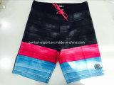 Swimwear piano di Short della scheda degli uomini di colore del contratto del poliestere della vita di Oeko-Tex