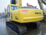Escavadeira de lagartas Usada Komatsu usada PC200-6 Escavadora Hidráulica