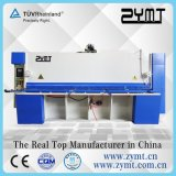 Da placa hidráulica da guilhotina do CNC máquina de corte