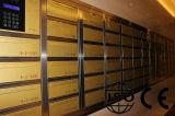 Caixa de correio eletrônico segura em aço inoxidável