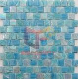 Tuile de mosaïque bleue utilisée de piscine (CSJ157)