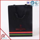 安い習慣によって印刷される贅沢な小売りのペーパーショッピング・バッグ、低価格の紙袋、