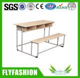 형식 3명의 사람 (SF-40D)를 위한 나무로 되는 결합 학교 책상 그리고 의자