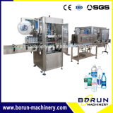 Máquina de etiquetas da luva do Shrink da capacidade mais elevada com etiqueta do PVC do animal de estimação