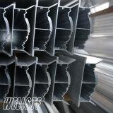 Fabrication en aluminium de profil d'extrusions en aluminium industrielles