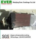 Revestimento em pó de efeito de madeira de transferência de calor