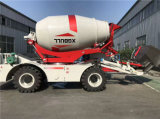 4cbm Vrachtwagens van de Concrete Mixer van de Lading van de Omwenteling van 270 Graden de Zelf Mobiele