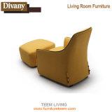 Silla de madera del sofá de la sala de estar de la reproducción para la oficina