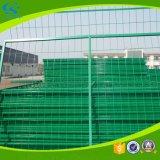 입히는 용접된 철사 담 직류 전기를 통한 PVC 방호벽