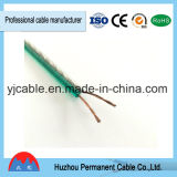 Cable flexible claro estupendo del altavoz de la alta calidad, alambre transparente de gama alta del altavoz