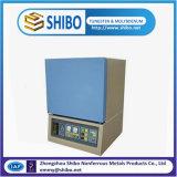 Fornace di casella a temperatura elevata Box-1200, forno a resistenza elettrico del laboratorio