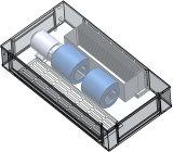 De verborgen Eenheid van de Rol van de Ventilator met Brushless Optie van gelijkstroom