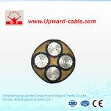 4 cable flexible del PVC de la base 10m m