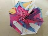 fait sur mesure Allover Parapluie droites d'impression automatique