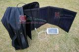 Chargeur solaire Sac avec centre d'alimentation de sauvegarde et de plus de kits en option