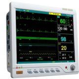 Pantalla Tactil el Monitor de Paciente de 15 pulgadas viene con Control Remoto
