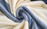 Couverture de corail estampée molle superbe d'ouatine estampée par Sr-B170213-27 de couverture de flanelle