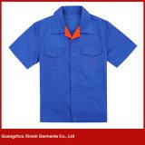 Vêtements de survêtement en manche à manches courtes pour hommes (W102)
