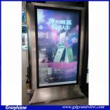 LED de la publicité de métal Pancarte de défilement