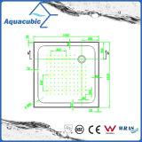衛生製品Sqaureは2つの側面のリップ支持する後部不用なABSシャワーの皿(ACT1111)を