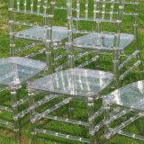 Alquiler boda transparente para sillas de resina Chiavari