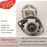 24V 4.5kw 10t Gear Reduction Starter para Komatsu Excavator 228000-7902