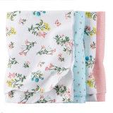 Impression promotionnelle en coton tricotée recevant une couverture avec haute qualité