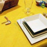 테이블 피복 & 상보를 위한 50GSM Burgundy 진한 빨강색 폴리프로필렌 짠것이 아닌 직물