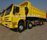 De Op zwaar werk berekende Vrachtwagen Truck/371HP van Sinotruk 8X4 (ZZ3317N3867W)