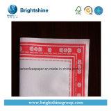 Blanc/rose/jaune/vert/papier noir d'Airlaid estampé par 50g-90g