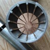 En forma de V alambre envuelto Pantalla para la filtración de procesamiento de alimentos