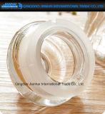 Especiarias secas de vidro com nervuras Reto-Tomadas o partido da cozinha do armazenamento do alimento, frascos das ervas
