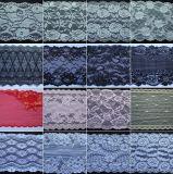 Encaje de algodón de alta calidad para el vestido de boda o fiesta