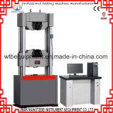 Wth-W600 computarizada electro-hidráulico servo de tracción máquina de prueba