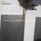 Mattonelle decorative dell'ardesia delle mattonelle del fungo della copertura dell'ardesia del fungo della parete nera delle mattonelle