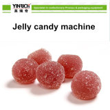 곰 모양 묵 사탕 (GDQ450)를 위한 사탕 기계 사탕 공정 라인 예금된 묵 사탕 생산 라인