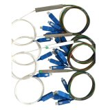 1*8 1 divisor óptico del PLC de fibra de 4 1 16 1 32 Gpon con los conectores de Sc/APC