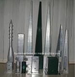 Puder-überzogener Zaun-Pfosten-Reparatur-Spitzen-Anker-/Pfosten-Reparatur-Sporn
