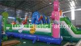 Trampolini gonfiabili animali di /Lollipop Playland della sosta di colore dei pastelli (RC-013)